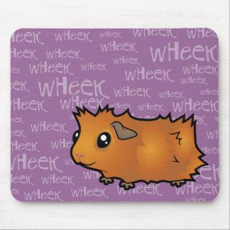 Noisy Guinea Pig (scruffy) Mouse Pad