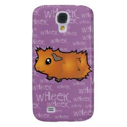 Noisy Guinea Pig (scruffy) Samsung Galaxy S4 Cover
