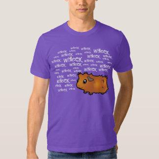 Noisy Guinea Pig (scruffy) T-shirts