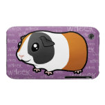 Noisy Guinea Pig (smooth hair) Case-Mate iPhone 3 Cases