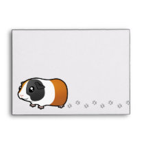 Noisy Guinea Pig (smooth hair) Envelope