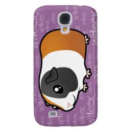 Noisy Guinea Pig (smooth hair) Galaxy S4 Cover