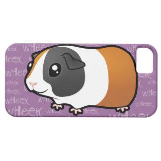 Noisy Guinea Pig (smooth hair) iPhone 5 Cases