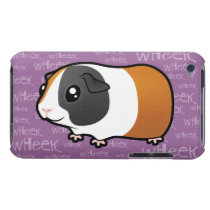 Noisy Guinea Pig (smooth hair) iPod Touch Cover