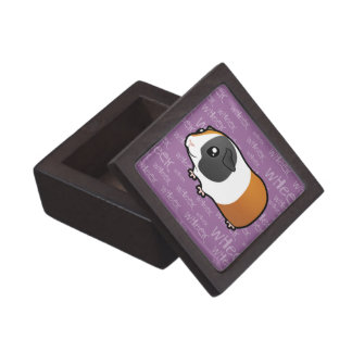 Noisy Guinea Pig (smooth hair) Jewelry Box