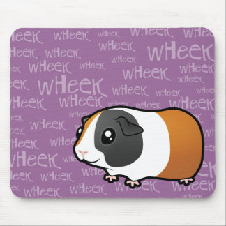 Noisy Guinea Pig (smooth hair) Mouse Pad