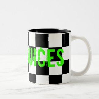 Noisy Juices mug