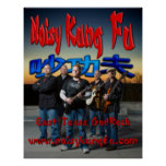 Noisy Kung Fu GodRock Poster
