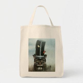 Noisy Neighbors Grocery Tote Bag