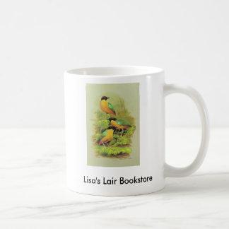 Noisy Pitta - Pitta versicolor Bookstore Promo Coffee Mug