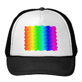 Noisy Rainbow Mesh Hat