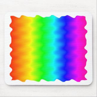 Noisy Rainbow Mouse Pad