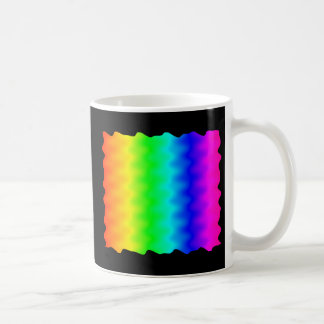Noisy Rainbow Classic White Coffee Mug