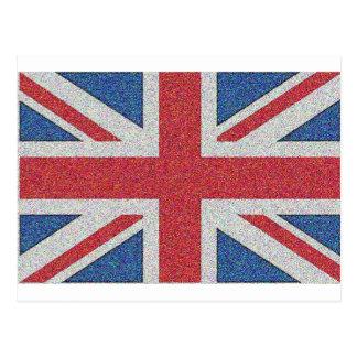 Noisy Union Jack Postcards