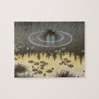 Nøkken [alcohol del agua] puzzle con fotos