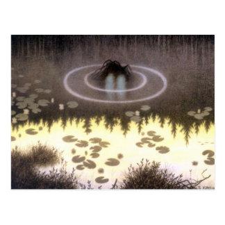 Nokken Mythical Water Sprite Postcard