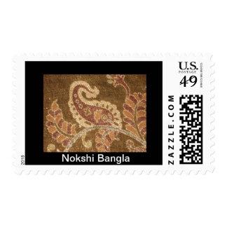 Nokshi Bangla Stamp