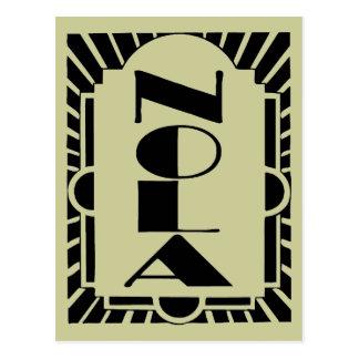 NOLA Art Decco Design Post Cards