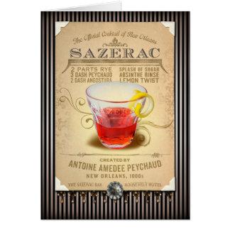 NOLA Collection Sazerac Cocktail Card