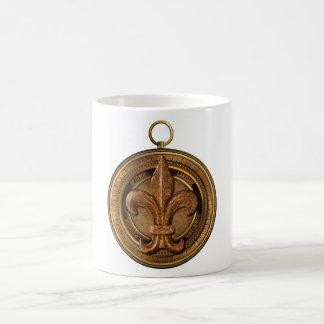 NOLA Compass New Orleans Fleur de Lis Coffee Mug