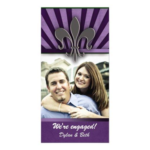 NOLA engagement card Photo Card