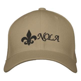 NOLA   Fleur De Lis Embroidered Hats
