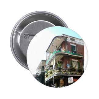 NOLA French Quarter 2 Inch Round Button