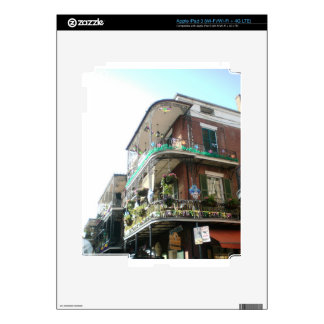 NOLA French Quarter Decals For iPad 3