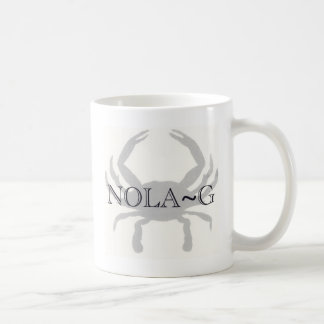 NOLA-G TAZA DE CAFÉ