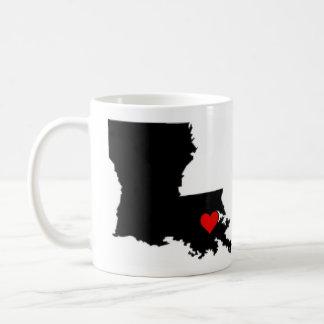 NOLA heart Coffee Mug