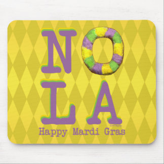 NOLA King Cake gifts Mouse Pad
