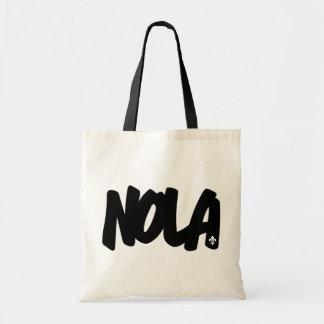 NOLA Letters Canvas Bag