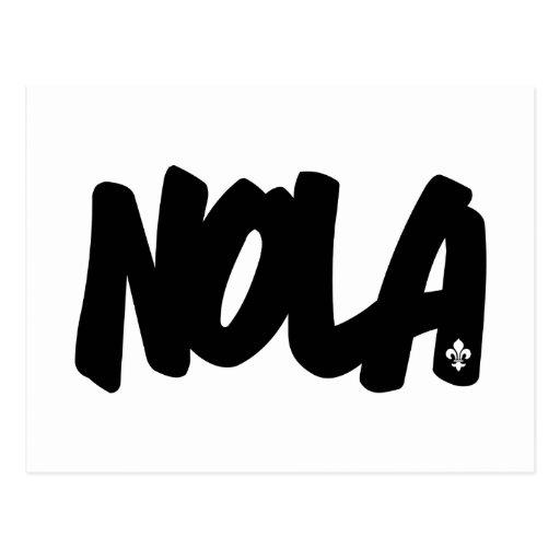 NOLA Letters Post Cards