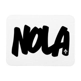 NOLA Letters Rectangular Photo Magnet