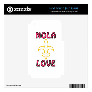 Nola Love Decals For iPod Touch 4G