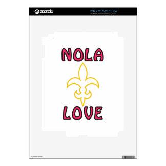 Nola Love Skin For iPad 2