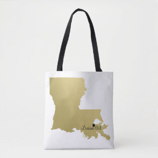 NOLA MADE|LOUISIANA PROUD Tote Bag