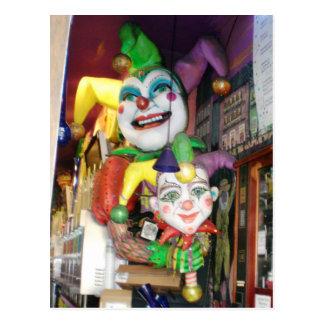 NOLA Mardi Gras Postcard