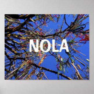 NOLA Mardi Gras Poster