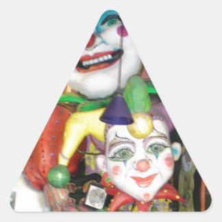 NOLA Mardi Gras Triangle Sticker