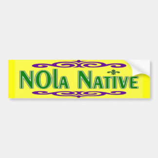NOLa Native Bumper Sticker