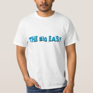 NOLA New Orleans Old Blue Tiles Style The Big Easy T-Shirt