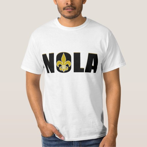 Nola new orleans t shirt zazzle for T shirt printing new orleans