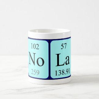 Nola periodic table name mug