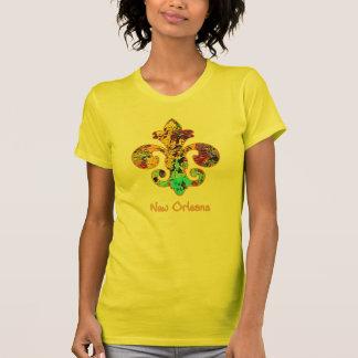 NOLA pintó la flor de lis (4) Camisetas