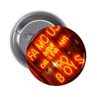 NOLA Po Boys Pinback Button