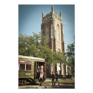 NOLA Streetcar Photographic Print