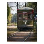 NOLA Streetcar Postcard