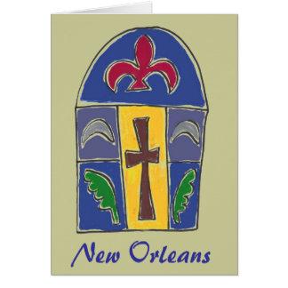 NOLA Symbols, New Orleans Card