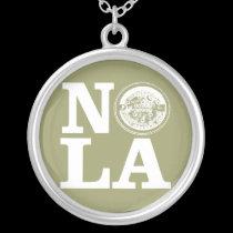 NOLA Water Lid necklaces